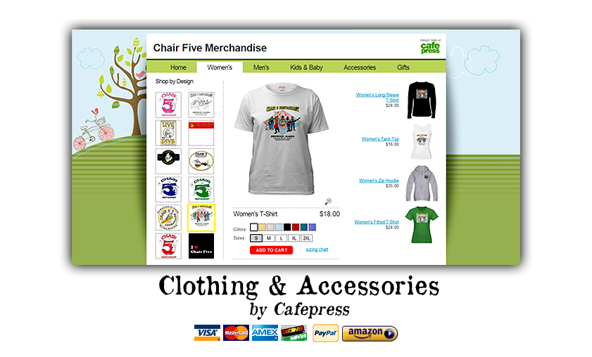 Chair Five Merchandise